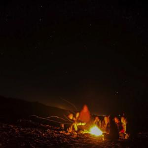 campfires crabs constellations hatteras ocean island center